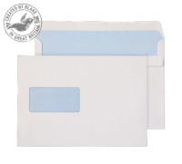 22708 Blake Purely Everyday White Window Self Seal Wallet 162X229mm 100Gm2 Pack 500 Code 22708 3P- 22708