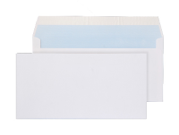 23882 Blake Purely Everyday White Peel & Seal Wallet 110X220mm 100Gm2 Pack 500 Code 23882 3P- 23882