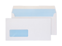 23884 Blake Purely Everyday White Window Peel & Seal Wallet 110X220mm 100Gm2 Pack 500 Code 23884 3P- 23884