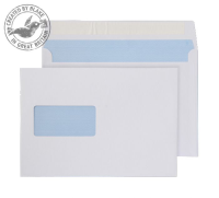 23708 Blake Purely Everyday White Window Peel & Seal Wallet 162X229mm 100Gm2 Pack 500 Code 23708 3P- 23708