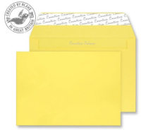 303 Blake Creative Colour Banana Yellow Peel & Seal Wallet 162X229mm 120Gm2 Pack 500 Code 303 3P- 303