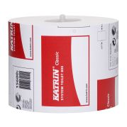 156005 Katrin Classic System Toilet Paper 800 2Ply 100% Virgin Fibre 100mm x 96M, Pack of 36.