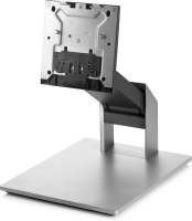 """Hp Hp Recline Stand - Stand Kit For All-in-one - Black  Silver  Asteroid - Screen Size: 23.8"""" - Mounting Interface: 100 X 100 Mm - For Eliteone 800 G3  800 G5 Z9h67aa - xep01"""