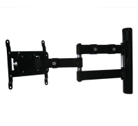B-Tech PRO-BOX Flat Sceen Wall Mount Double Arm VESA200 Piano Blk BT7515-PRO/PB - eet01