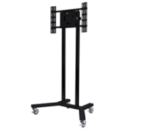 "B-Tech Flat Screen Floor Stand Trolley (up to 65"") BT8504/BB - eet01"