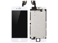 MicroSpareparts Mobile LCD for iPhone 6 White Full Assembly OEM MOBX-DFA-IPO6-LCD-W - eet01