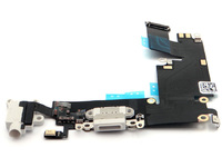 MicroSpareparts Mobile Charging dock port flex cable White color MOBX-IP6-INT-2W - eet01