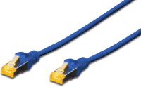 MicroConnect S/FTP CAT6A 2M Blue Snagless LSZH, Full copper AWG27 SFTP6A02BBOOTED - eet01