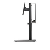 "Dell Dell Micro Form Factor All-in-one Stand Mfs18 - Stand For Monitor / Mini Pc - Screen Size: 19""-27"" - Mounting Interface: 100 X 100 Mm - Desktop - For Optiplex 3020  3040  3046  3050  3060  5050  5060  7040  7050  7060 (micro)  9020 (micro) 452-b"