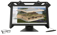 "Hp Hp Zvr Virtual Reality Display - 3d Led Monitor - Full Hd (1080p) - 23.6"" K5h59a4 - xep01"