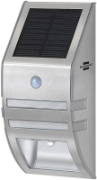 Brennenstuhl Solar Wall light IP44 2xLED 30lm silver 1170780 - eet01