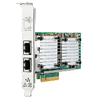 Hewlett Packard Enterprise Hpe 530t - Network Adapter - Pcie 2.0 X8 - 10gb Ethernet - For Apollo 4200 Gen9; Proliant Dl180 Gen10  Dl325 Gen10  Dl360 Gen10  Dl380 Gen10 656596-b21 - xep01