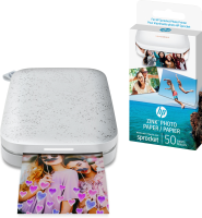 Hp Hp Sprocket 200 - Printer - Colour - Zink - With Hp Zink Sticky-backed Photo Paper (10-sheets) 1as86a#638 - xep01