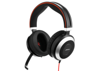 Jabra Jabra Evolve 80 Ms Stereo - Headset - Full Size - Wired - Active Noise Cancelling - 3.5 Mm Jack 7899-823-109 - xep01