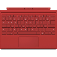 Microsoft Surface Pro 4 Type Cover Red  Us Or Us Int. - Qc7-00005 - xep01