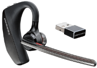 Plantronics Poly Voyager 5200 Uc - Headset - Ear-bud - Over-the-ear Mount - Bluetooth - Wireless 206110-101 - xep01