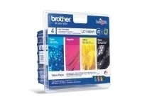 Brother LC-1100 HY Value Pack BK/C/M/Y LC1100HYVALBP - eet01