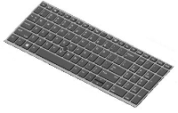 HP Keyboard SR BL 15W SP  L17971-071 - eet01