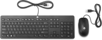 Hp Slim Wired Usb Desktopset Keyboard+mouse Us/int - T6t83aa#abb - xep01