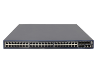 Hewlett Packard Enterprise Hpe 5500-48g-poe+-4sfp Hi Switch With 2 Interface Slots - Switch - Managed - 48 X 10/100/1000 (poe+) + 4 X Gigabit Sfp + 2 X 10 Gigabit Sfp+ - Rack-mountable - Poe+ (1440 W) - Remarketed Jg542ar - xep01