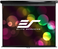 "Elite Screens 119"" Manual Series Screen MaxWhite, White M119XWS1 - eet01"