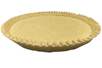 """11"""" Short Plain Shallow Pastry In Tin"""