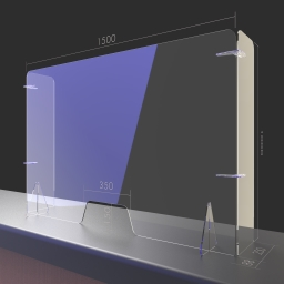 Bespoke Free Standing Protective Screens