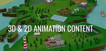 3D & 2D Animation Content Production In Blackpool