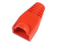 KON503R MicroConnect Boots RJ45 Red 50pack 50pcs in one bag - eet01