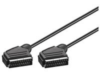 AVPP2 MicroConnect Scart - Scart 2m Fully Shielded cable  7mm - eet01