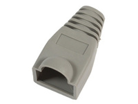 33301-25 MicroConnect Boots RJ45 Grey 25pack 25pcs in one bag - eet01