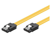 SAT15003C6 MicroConnect SATA cable 6GB, SATA III 0,30M 7-Pole to 7-Pole SATA plugs - eet01