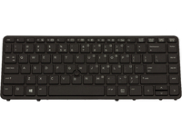 HP Keyboard (NETHERLAND) Backlit keyboard 731179-B31 - eet01