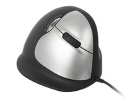 R-Go Tools HE Mouse Vertical Mouse Right Large, 5 buttons, scroll wheel RGOHELA - eet01