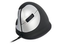 R-Go Tools HE Mouse Vertical Mouse Left 5 buttons, scroll wheel RGOHELE - eet01