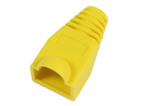 MicroConnect Boots RJ45 Yellow 50pack 50pcs in one bag KON503Y - eet01