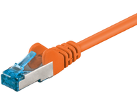 MicroConnect S/FTP CAT6A 15M Orange LSZH PIMF( Pairs in metal foil) SFTP6A15O - eet01