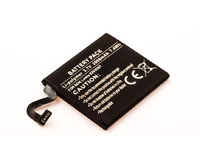 MicroBattery 4 Cell Li-Pol 3.7V 2.0Ah 7.4wh Smartphone Battery for Nokia MBXNO-BA0001 - eet01