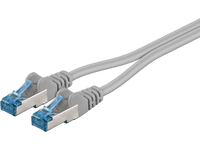MicroConnect S/FTP TWIN CAT6A 0.5M PIMF( Pairs in metal foil) SFTP6A005TWIN - eet01