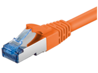 MicroConnect S/FTP CAT6A 1M Orange LSZH PIMF( Pairs in metal foil) SFTP6A01O - eet01