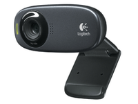 Logitech HD Webcam C310 Black  960-000637 - eet01