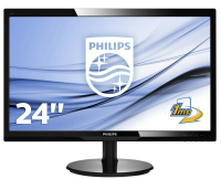 philips 24 LCD Monitor With SmartControl Lite 246V5LHAB/00 - MW01