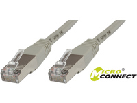 MicroConnect S/FTP CAT6 0.25m Grey PVC PiMF (Pairs in metal foil) B-SFTP60025 - eet01
