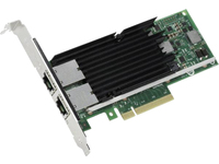 Intel INTEL ETHERNET X540-T2 SERVER RJ45 PCI-E BULK X540T2BLK - eet01