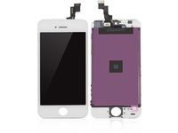 MicroSpareparts Mobile IPhone 5s LCD Assembly White  MOBX-IPO5S-LCD-W - eet01