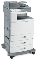 Lexmark XS796DTE Colour Laser Printer 7562-496 - Refurbished