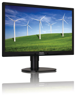 philips 24 LCD Monitor LED Backlight With Power Sens 241B4LPYCB/00 - MW01