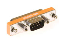 MicroConnect Mini Gender DB9 to DB25 M/M 9 pin D-sub to 25 pin D-sub MOD25M9M - eet01