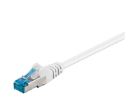 MicroConnect S/FTP CAT6A 0.25M WHITE LSZH PIMF( Pairs in metal foil) SFTP6A0025W - eet01