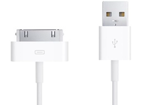 MicroConnect Apple 30Pin USB Cable 1m Data transfers up to 480 Mbps USB-30PIN1 - eet01